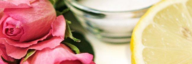 Ingredients for rose jam